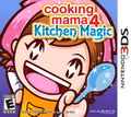 Game 3DS Cooking Mama 4 Kitchen Magic