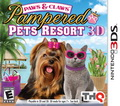Game 3DS Paws and Claws Pampered Pets Resort 3D