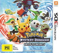 Game 3DS Pokemon Mystery Dungeon Gates to Infinity