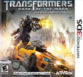 Game 3DS Transformers Dark of the Moon Stealth Force Edition