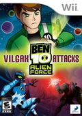 Game Wii Ben 10 Alien Force : Vilgax Attacks