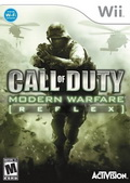 Game Wii Call of Duty Modern Warfare Reflex