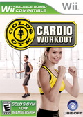 Game Wii Golds GYM : Cardio WOrkout