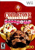 Game Wii Cold Stone Creamery : Scoop it Up