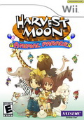 Game Wii Harvestmoon Tree of Tranquility
