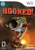 Game Wii Hooked Real Motion Fishing