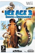 Game Wii Ice Age 3 Dawn of The Dinosaurs