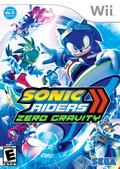Game Wii Sega Sonic Riders Zero Gravity