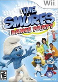 Game Wii The Smurfs Dance Party