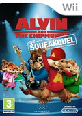 Game Wii Alvin and The Chipmunks The Squeakquel