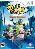 Game Wii Rabbids Go Home comedy adventure
