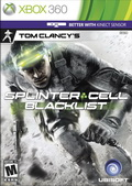 Game XBox Splinter Cell Blacklist